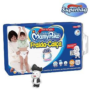 Kit Super Bag FRALDA CALÇA  Descartável Mamypoko XXG - 48 Unidades + 01 Boneco Poko-Chan