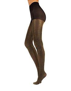 Meia-calça Brilhante com Lurex - 70´s