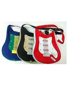 Bolsa em Formato de Guitarra Colorida Rock
