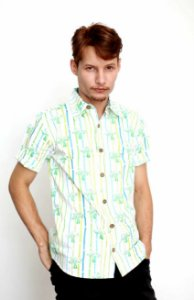 Camisa Masculina Tiki Havaiana