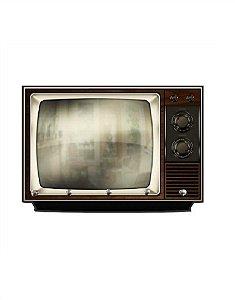 Porta Chaves TV Antiga Retrô