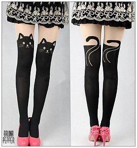 Meia-calça Gatinho Catlovers