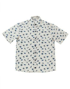 Camisa Estampada Manga Curta - Blue Suede Shoes
