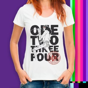 Camiseta Rock n Roll Ramones Punk Rock Statika