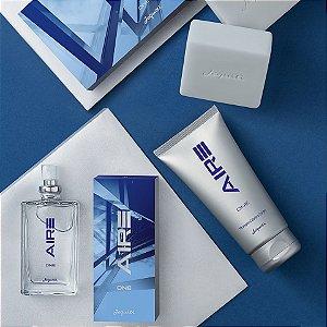Kit Aire One Jequiti Presente Masculino Perfume Shampoo