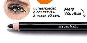 Lápis Para Olhos Ultrafixação Aviva - Preto 1,2 G Jequiti