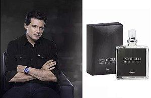 Portiolli Black Edition Colônia Masculina - 25ml Jequiti Perfume Pequeno