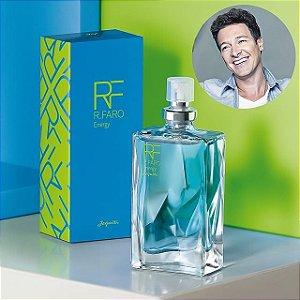 Mini Perfume Rodrigo Faro Energy Colônia Masculina Jequiti 25ml