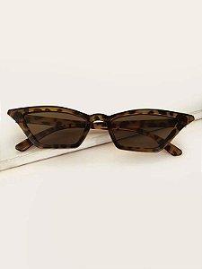 Óculos Escuros Gatinho Fininho Pequeno Anos 50 90 Retrô