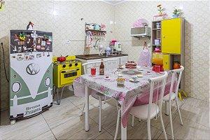 Aluguel de Cozinha Retrô Ensaios Filmagens Equipada