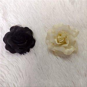 Flor Pequena de Cabelo Rosa Várias Cores Pin Up Retrô Vintage Style