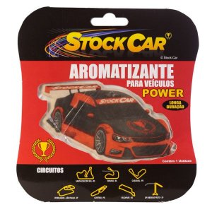 Aromatizante Automotivo Stock Car Power