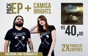 "Pack Camisa 9Rights + EP ""Innersight"""