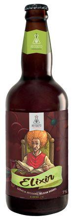 Cerveja Antídoto Elixir Dubbel 500ml