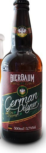 Cerveja Bierbaum German Pilsner 500ml