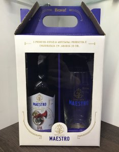 Kit Maestro IPA 1gf 500ml + 1 copo