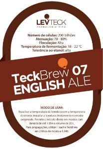 Fermento Líquido TeckBrew English Ale - TB07