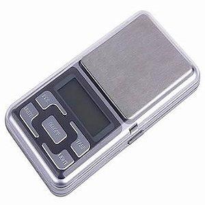 Mini Balança Digital de Bolso - 500gr/0,1g