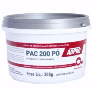 Ácido Peracético PAC 200 - Desinfetante - Pote 300g
