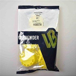 Lacre plástico para barril inox amarelo
