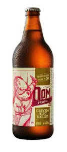 Cerveja Dom Pedro Helles 600ml