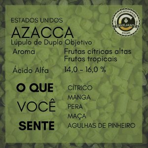 Lúpulo Azacca - 50g