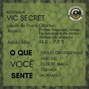 Lúpulo Vic Secret - 50g