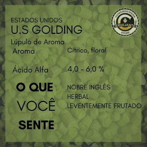 Lúpulo U.S Golding - 50g