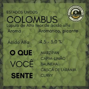 Lupulo Columbus - 50g