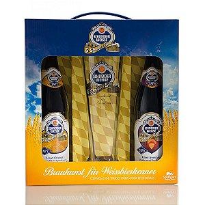 Kit Cerveja Schneider Weisse 2GF + 1 Copo
