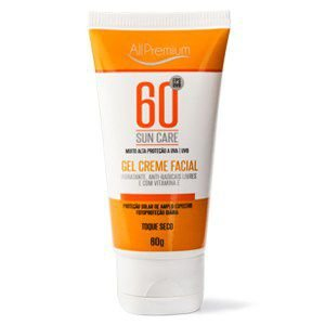 SUN CARE FPS 60 GEL CREME FACIAL TOQUE SECO - ALLPREMIUM