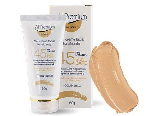 SUN CARE FPS 45 GEL CREME TONALIZANTE COR NATURAL - ALLPREMIUM