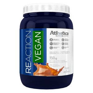WHEY PROTEIN - REACTION VEGAN 720 G - CHOCOLATE