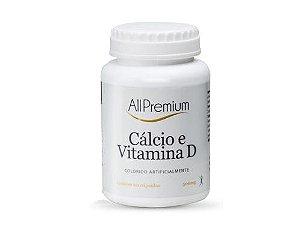 CALCIO E VIT.D3 500MG  60 CÁPSULAS - ALLPREMIUM