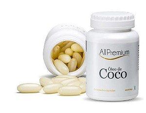 OLEO DE COCO 1000MG 60 CÁPSULAS ALLPREMIUM