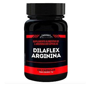 DILAFLEX ARGININA 120 CÁPSULAS - NITECH NUTRITION