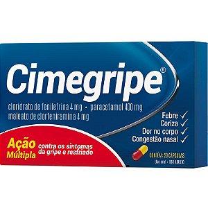 CIMEGRIPE 20 CÁPSULAS CIMED