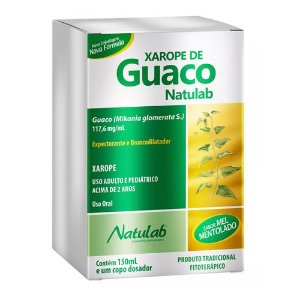 XAROPE GUACO NATULAB 150ML.