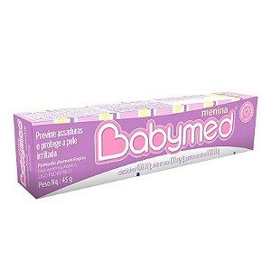 Babymed Menina Pomada para Prevenção de Assaduras 45 Gr