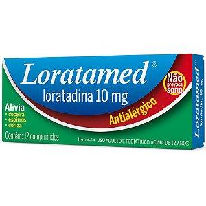 Loratadina Loratamed 10mg com 12 Comprimidos