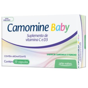 Camomine Baby 20 Cápsulas