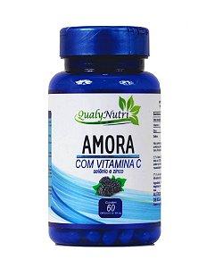 Amora com Vitamina C 60 Cápsulas - Qualynutri