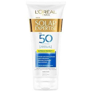 Protetor Solar L'Oréal Paris Solar Expertise Supreme Protect 4 FPS 50 Loção 200ml