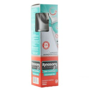 Rinosoro Jet 0,9% Spray Nasal Jato Contínuo 100 ml