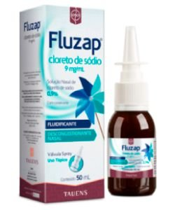 FLUZAP 9MG 50ML SPRAY CLORETO DE SODIO