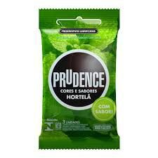 Preservativo Prudence Hortelã com 3 Unidades