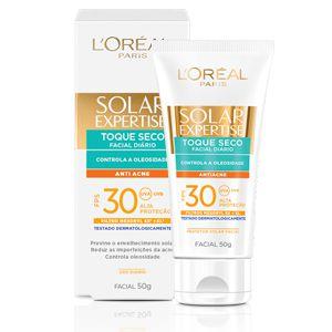 Protetor solar L'oreal Expertise Facial Antiacne FPS 30 50g