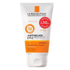 Protetor Solar Anthelios XL Protect Corpo FPS 50 com 120 ml
