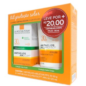Anthelios Airlicium FPS 30 50g + Anthelios Hidratante FPS 30 120ml