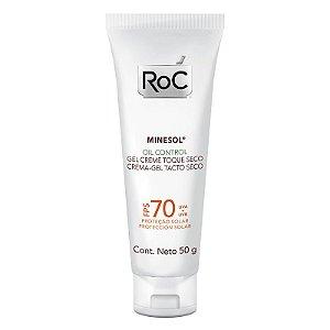 Protetor Solar Facial Roc Minesol Oil Control Toque Seco FPS 70 50g